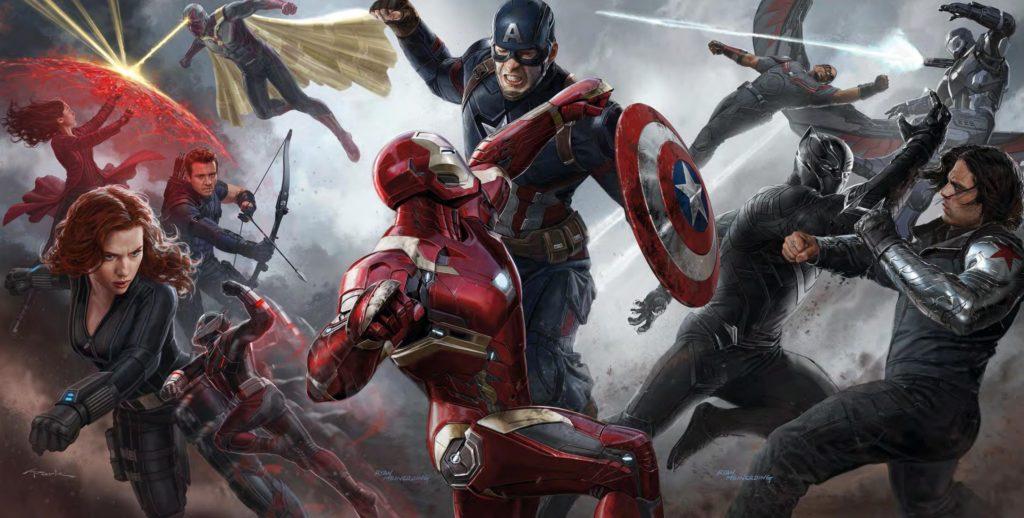Captain America: Civil War from Ranking the MCU