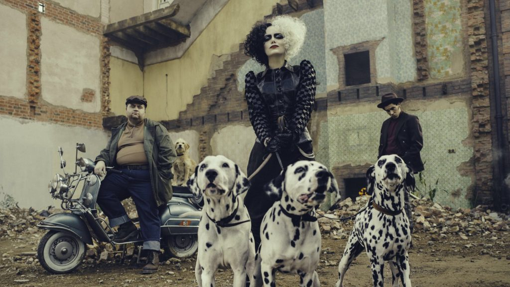 Image from What I'm Most Excited About From D23 2019 showing the first picture from the upcoming Cruella movie